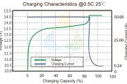 Charging Characteristics PowerBrick 100Ah – EN