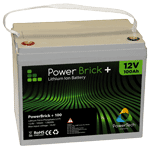 Lithium-Ion battery pack 12V-100Ah – PowerBrick