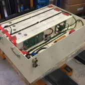 750V – 250kW Lithium battery for the StreamLiner. Designed around 16 modules in series.