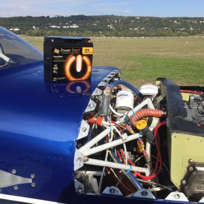 PowerStart 16000 – Lithium Starter battery for Van's RV6 – RV7 – RV8 aircraft